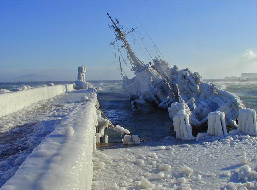 Погибший на Байкале корабль