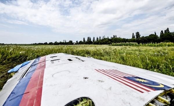 Обломки MH-17