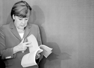 Ангела Меркель, канцлер ФРГ