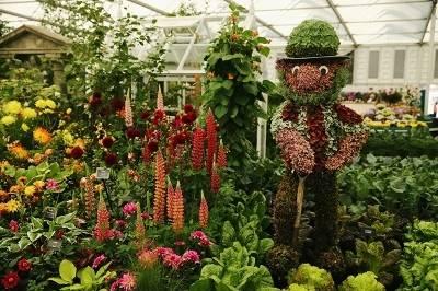 Цветочное шоу в Лондоне