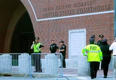 Здание суда в Бостоне