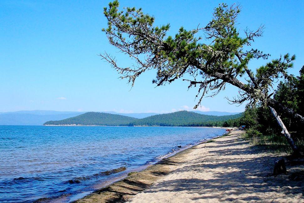 Озеро Байкал, берег
