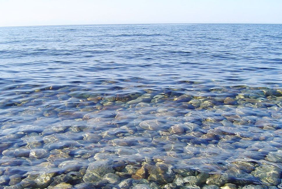 Озеро Байкал, прозрачность воды